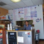 Counter at South Philly Cheese Steaks Golden