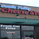 Exterior of South Philly Cheese Steaks Restaurant