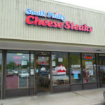 Exterior of South Philly Cheese Steaks in Golden
