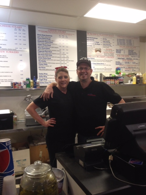 Employees at South Philly Cheese Steaks in Cherry Hills Village