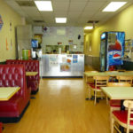 Interior South Philly Cheese Steaks Golden