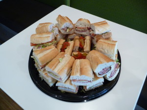 Sandwich Platter for Catering